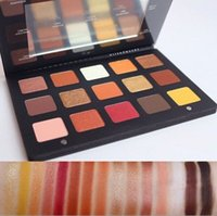 Wholesale Color Pigments Powders - Fashion Sunset Palette 15 Color Eyeshadow Palette Makeup Glitter Eye Palette Maquiagem Matte Colour Pigment Eye Shadow Powder Cosmetic
