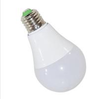 bombilla a19 al por mayor-Bombilla LED Globe A19, lámparas E26 de 9 vatios, AC85 ~ 265V, luces equivalentes a brillo de 60 vatios, 2 años de garantía, ahorro del 85% de carga eléctrica, color blanco