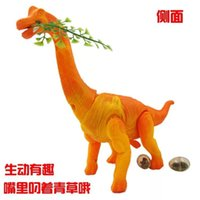 Wholesale HJF manufacturers hot big electric dinosaur toy model simulated animal projection walking laying eggs dinosaurs