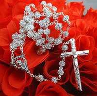 special rosaries - rosary bead necklace catholic rosary glass rosary rhinestone rosary special offer