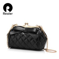 Wholesale Trend Big Bags - Wholesale-2016 Female Crossbody Chain Shoulder Bag Fashion Trend Frame Bags with big bow quilted bags for women