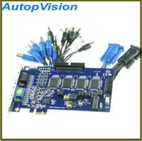 Wholesale Surveillance Cards - 16CH video capture card Surveillance GV 800 GV-800 DVR PCI-E