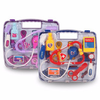Wholesale Play House For Girls - 14pcs Set Doctor Series Pretend Play Set Children Play House Toys Medical Kits Classic Toys Simulation Medicine For Girl & Boy