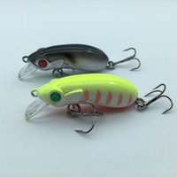 Wholesale Crankbait 5cm - 1PCS 5cm 7g crankbait Fishing lures plastic hard crank bait artificial lure fish pesca hooks tackle japan wobbler