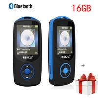 Wholesale E Books Digital - Wholesale- Min Bluetooth mp3 player 16GB Sport RUIZU X06 1.8 Screen 100H Digital MP3 Music Player Video Player HIFI Stereo FM Radio walkman