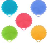 Wholesale camera shaped online - Flower Shape Silicone Brushs Multi Function Tableware Fruit Vegetable Brush For Home Washing Tool Multi Color gj C