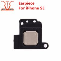 Wholesale Fix Cell Phones - Ear Pieces Earpiece Sound Speaker Earpieces Listening Original AAA Grade Spare Parts Fix Replace Repair Cell Phone Replacement for iphone SE
