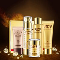 Wholesale New BIOAQUA K Golden Beauty Makeup Cosmetics Skin Moisturizing Whitening Cream Lotion Facial Face Day Cream Skin Care Set