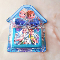 Wholesale Spiderman Wallets - QQ Emoji Cars Sophia Spiderman Frozen Designs Kids Children Glasses Wallet Suit Purse Student Gifts Prizes Kids Birthday Gifts 695