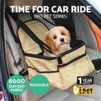 Wholesale Pet Car Carrier Dog Cat Booster Seat Portable Soft Cage Travel Bag Foldable