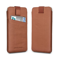 Wholesale Iphone Cases Pure - C6-1394 Case for iPhone 7 Fashion Pure Handmade Cover for iPhone 7 plus Leather Card Slot Ultra Thin Pouch 4.7 5.5