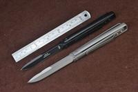 messer klinge designs großhandel-versandkostenfrei 8 '' neue speziell entwickelt rollover lock 440 klinge alle stahl taschenmesser vTF54