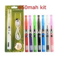 Wholesale Ego Blister H2 - Ugo-V II 2 e cigarettes H2 tank vaporzier starter kits vape pen ego evod gsh2 ugo v blister kit ecig vape mod