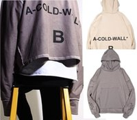 Wholesale Sweater For Man High Neck - A-COLD-WALL . ACW High street hip hop loose anti-wear OVERSIZE Sweatshirt letters printing hoodie couple sweater hoodies for men women