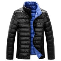 Wholesale Men S Down Winter Coats - Highest quality!90% white duck down Men 's jackets 2016 winter new fashion coats,overcoat,outwear,parka,trench M-XXXL