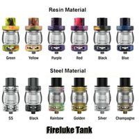 Wholesale Glass Resins - Authentic Freemax Fireluke Tank 4 5ml Top Filling Airflow Control Sub Ohm Resin Atomizer For 510 Thread Box Mods