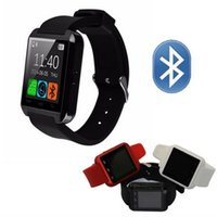 Cheap U8 Smart Watch Relógios de pulso Bluetooth Altimetro Smartwatch para Apple iPhone 6 5S Samsung S4 S5 Nota Android HTC phones Smartphones