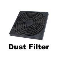 ventilador de caixa à prova de poeira venda por atacado-Atacado-120mm Fan Dust Filter Dustproof tela PC Computer Case Malha PC Case Fan Filtro de esponja de pó preto
