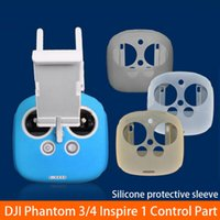 Wholesale Inspired Case - 2017 Newest 4 Colors DJI Inspire 1 Phantom 3 4 Accessories Remote Control Silicone Protective Case for DJI Radio Control Part