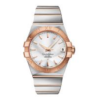Wholesale Mm Machines - Luxury Automatic Machine Watches For Men Women High Quality Constellation Ceries Men&Watch 123.20.38.21.02.001 Fashion Brand Wristwatches
