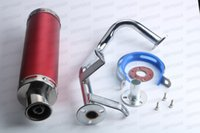Wholesale Gy6 Exhaust - Scooter Performance Exhaust System GY6 50cc QMB Chinese Scooter Moped Parts