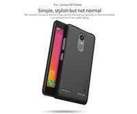 Wholesale Casing For Lenovo Cellphone - NILLKIN cellphone case for lenovo K6 Power Super Frosted Shield matte hard back cover case with free screen protector