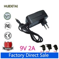 "Wholesale 9v Charger For Tablet - Wholesale- 9V 2A Universal AC DC Power Supply Adapter Wall Charger Replace For 10""Android 2.2 tablet pc epad apad mo013s"