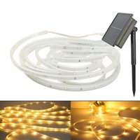 100 LEDs Solar Strip Light Waterproof LED Fairy String Iluminação exterior Garden Lawn Christmas Party Decor Home Light