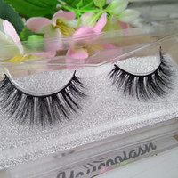 Wholesale eyelashes extensions for sale - 10 Pairs Natural Mink Strips Thick Cross Natural False Eyelash 3D Eyelash Extensions factory supply for sale