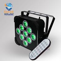 Wholesale 5in1 Led Par - Rasha Hot Sale Panta 9*15W 5in1 LED Par Projector RGBAW Battery Powered LED Par Light Stage Light