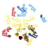 Wholesale Hearts Confetti - 1500pcs Multicolor Shine Romance Sparkle Love Heart Wedding Party Confetti Table Decoration Birthday Party Decorative Supplies