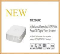 Wholesale Dvr Logo - DAHUA NEW Product 4 8 Channel Penta-brid 1080P Lite Smart 1U Digital Video Recorder Without Logo XVR5104C XVR5108C