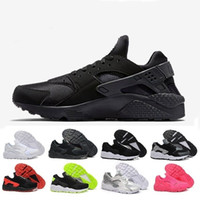 Wholesale 2017 air Huarache Ultra Casual Shoes Huarach Rainbow Ultra Breathe Shoes Men Women Huraches Multicolor Athletic Sneakers Eur Size