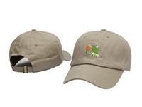 Wholesale Pink Bear Hats - 2017 new LEBRON JAMES UNSTRUCTURED DAD CAP HAT SIPPING TEA BLACK KERMIT hats kanye west bear dad cap casquette cotton