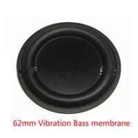 Wholesale Vibrate Speaker - Wholesale- 2pcs 62mm Strengthen bass vibrating diaphragm plate vibrator Speaker