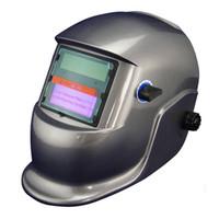 Wholesale Mag Welding Machines - Li Battery+Solar auto darkening welding helmet protective mask for MAG TIG TSC KR welding machine