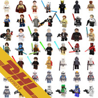 Wholesale Wholesale Star Wars Figures - 120pcs Mix Lot Star Wars Minifig 182 Roles The Force Awaken Figures Rogue One The Last Jedi Tauntaun Mini Building Blocks Figures