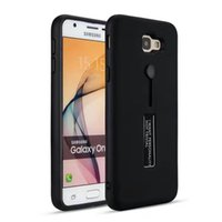 Wholesale black retail plastic bags resale online - For Xiaomi Redmi X A Note X PC TPU Hybrid Defender Metallic Kickstand Case Black Hard Back Cover with Ring Retail Opp Bag