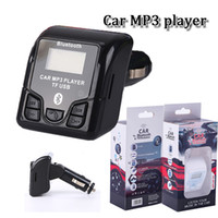 Wholesale Car Speaker Support Sd Card - New Wireless QSS-50 USB Car Charger Bluetooth Speaker sepakerphone TF SD Card MP3 Player USB Car Charger for samsung LG huawei smart phone