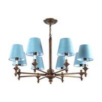 Kronleuchter Deckenleuchte Großhandel Moderne LED Blau Mit Schatten  Kristall Kronleuchter Lichter Lampe Für Wohnzimmer Licht