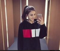 Wholesale Cashmere Hoodie Women - Women Autumn and winter the new 2016 Korean Pre spell cashmere hoodies and loose sleeved girls long velvet Hooded Jacket