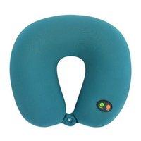 ingrosso cuscino massaggio del collo di massaggio-Cuscino ergonomico a forma di testa con collo ergonomico a batteria