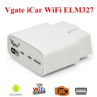 Wholesale Obd2 Wifi For Land Rover - 2017 High Quality Original Vgate iCar WIFI ELM327 OBD Muliscan ELM 327 For Android PC For iPhone For iPad OBD2 Code Reader