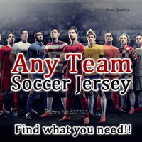 Wholesale Grey Sweater Men - Football Shirts Any Team all in one Inter camisetas de futbol Soccer Jerseys jacket sweater Milan tracksuit Man Shirts kids