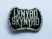 black rock stock - Amercian Lynyrd Skynyrd Rock Band belt buckle SW BY588 suitable for cm wideth snap on belt with continous stock