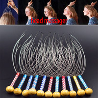 Wholesale Octopus Head Massager Wholesale - Head Massager Claw Octopus Hand Massage Head Neck Scalp Massager Stainless Steel Germinal Scalp Hair Care Massage WX-C47