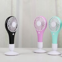 Wholesale Notebook Table Cooler - Outdoor Hand Mini Fans USB Rechargeable Ventilador for Student Portable Table Fan for Notebook 1200MA Air Cooler Conditioning for Home
