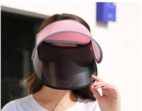 Wholesale Bike Sun - Visors for bikes Empty top hats Sun shading hat for bikes Cycling sunscreen cap sun women hat protection hat