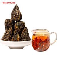 yunnan handmade Canada - C-HC025 Promotion Sale!Top Class China Black Tea Red Tea Yunnan Handmade Pagoda Dian Hong Black Tea 250g