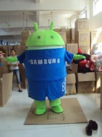 Wholesale Android Mascot Costume - Professional Android Robot Mascot Costume Facny Dress Adult Size